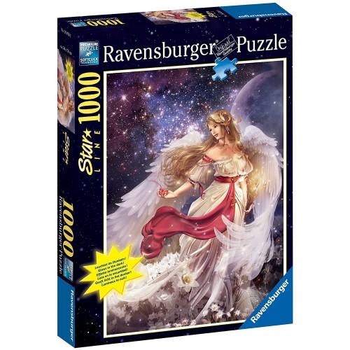Ravensburger Beautiful Angel 1000 Piece Starline Glowinthedark