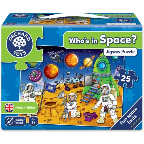 Orchard Toys Whos In Space Puzzle 25