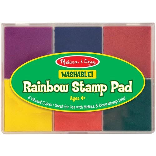 Melissa Doug Rainbow Stamp