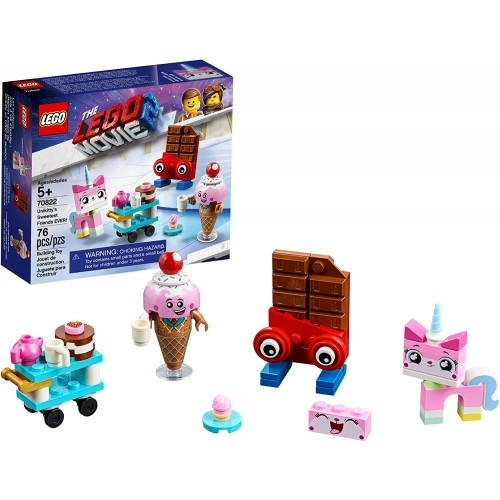 Lego The Movie 2 Unikittys Sweetest Friends Ever 70822 Pretend Play Food And Building