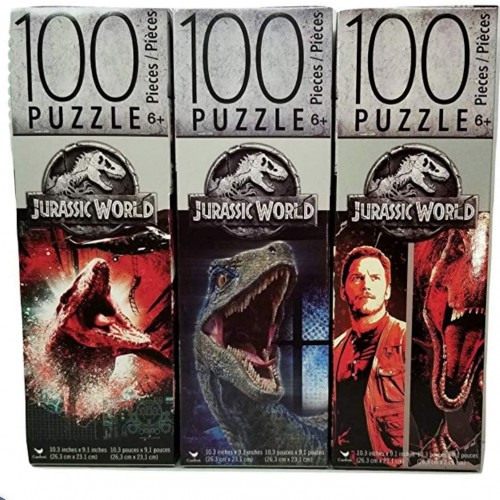 Jurassic World 100 Piece Puzzle Bundle Of