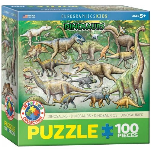 Dinosaurs 100 Piece Jigsaw