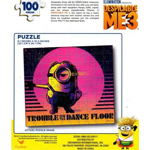 Cardinal Despicable Me 3 Minions 100 Piece Puzzle