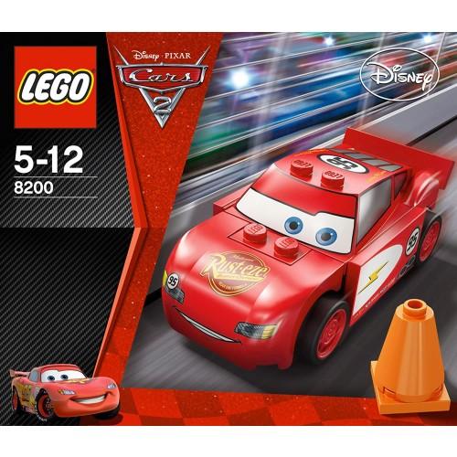 Lego Radiator Springs Lightning Mcqueen