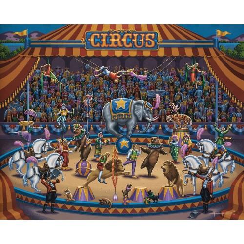 Dowdle Jigsaw Puzzle Circus Stars 100