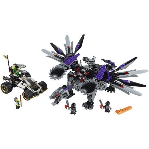 Lego Ninjago Nindroid Mechdragon And Nyas Car With 5 Minifigures Set
