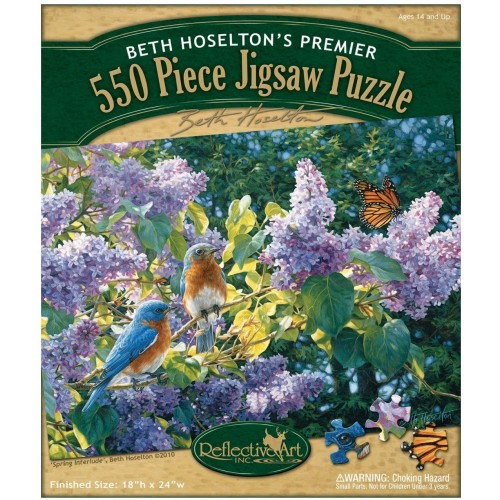 Reflective Art Spring Interlude Jigsaw Puzzle