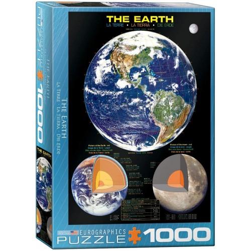 Eurographics The Earth 1000 Piece