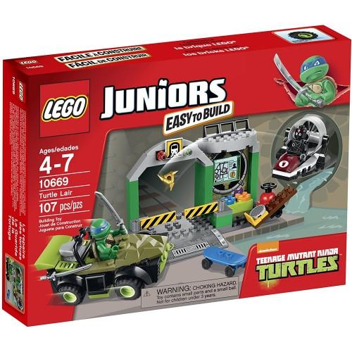 Lego Juniors Turtle Lair 10669 Building