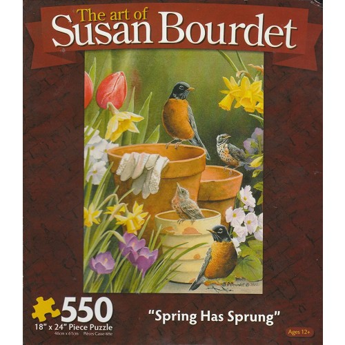 The Art Of Susan Bourdet 550Pc Puzzlespring Has