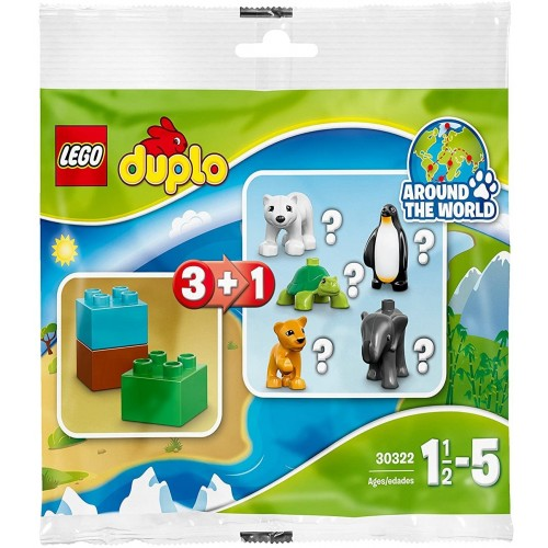 Lego Duplo Wildlife Set 30322 Bagged Includes Polar