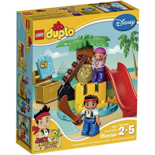 Lego Duplo Jake 10604 And The Never Land Pirates Treasure Building