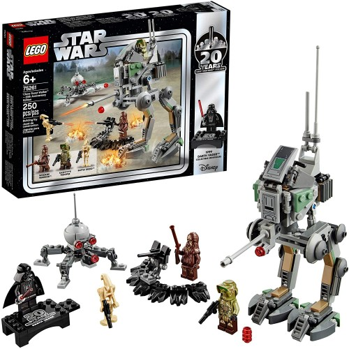 Lego Star Wars Clone Scout Walker 20Th Anniversary Edition 75261 Building Kit 250