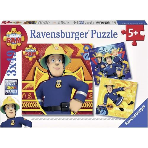 Ravensburger Fireman Sam Jigsaw Puzzle 3 x 49