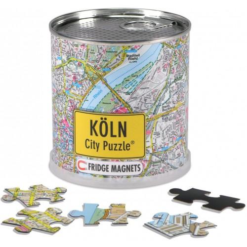 Extragoods Kln City Puzzle Magnets In Premium Tin
