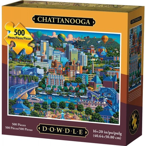 Dowdle Jigsaw Puzzle Chattanooga 500
