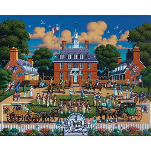 Dowdle Jigsaw Puzzle Williamsburg National Historic Park 500