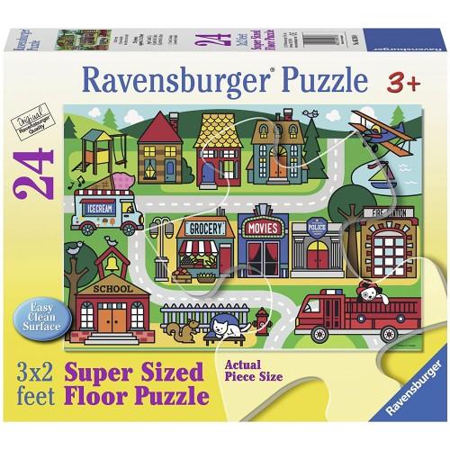 Ravensburger City Streets Floor Jigsaw Puzzle