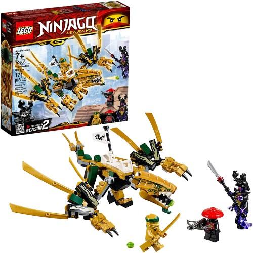 Lego Ninjago Legacy Golden Dragon 70666 Building Kit 171