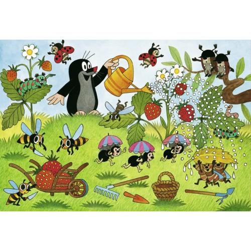 Ravensburger The Mole In Garden Jigsaw Puzzle 2 x 24