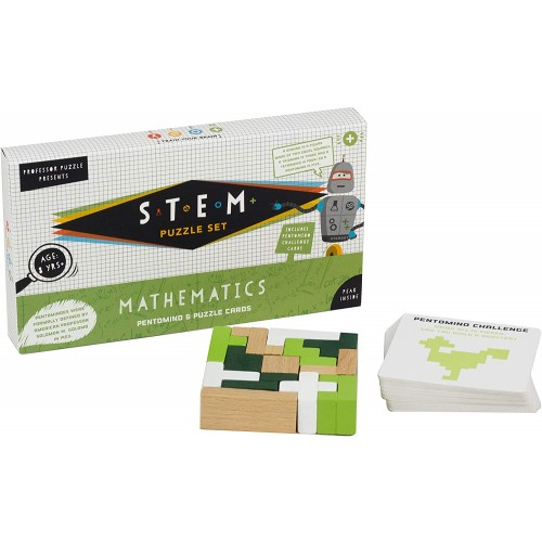 Stem Pentomino Mathematics Educational Game 8 Toys By Professor
