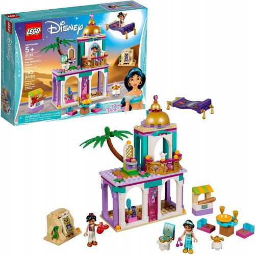 Lego Disney Aladdin And Jasmines Palace Adventures 41161 Building Kit 193