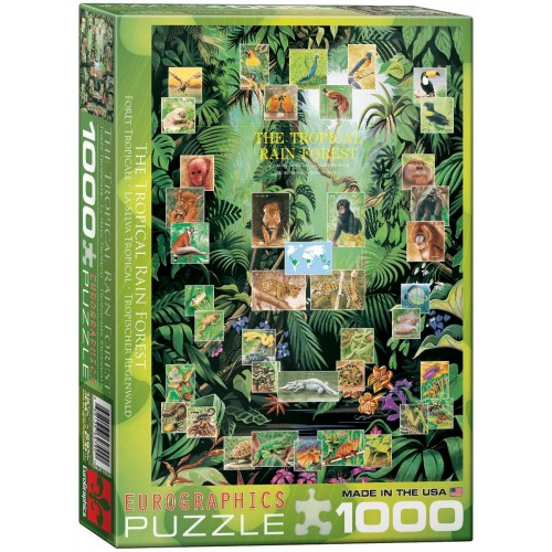 Eurographics The Tropical Rain Forest Puzzle