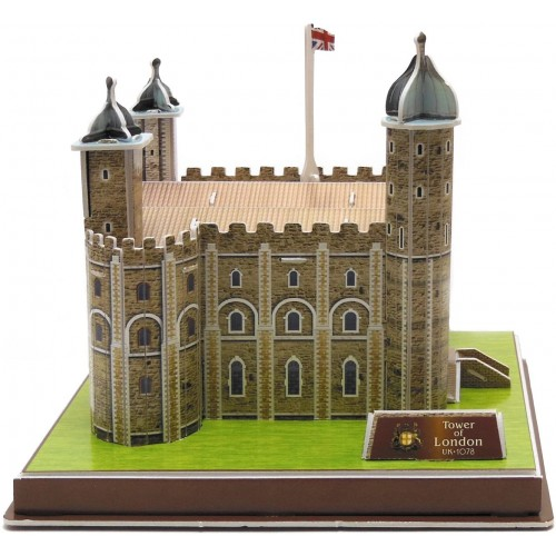 Runsong Creative 3D Puzzle Paper Model Tower Of London Diy Fun Educational Toys World Great