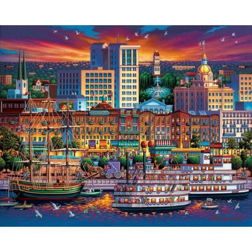 Dowdle Jigsaw Puzzle Savannah 500
