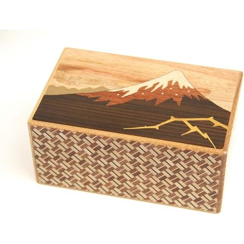 Japanese Puzzle Box 21Steps Kaminarifuji And