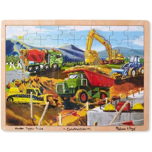 Melissa Doug Wooden Jigsaw Puzzle