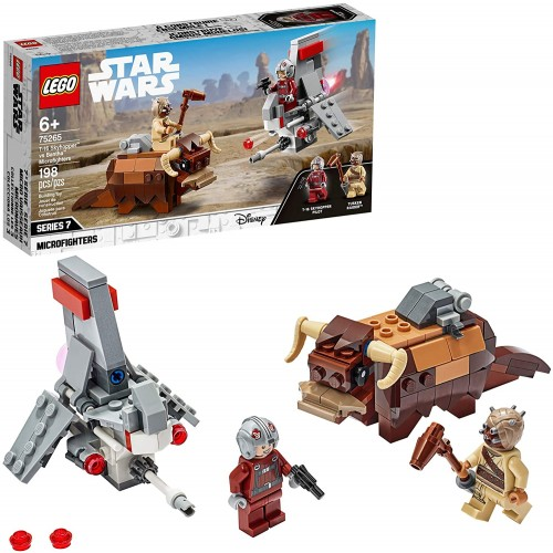 Lego Star Wars A New Hope T16 Skyhopper Vs Bantha Microfighters 75265 Collectible Toy Building Kit