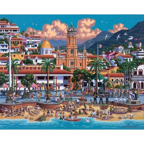 Dowdle Jigsaw Puzzle Puerto Vallarta 500
