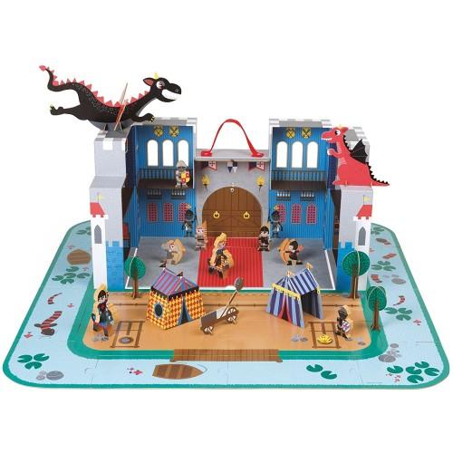 Janod The Fantastic Castle Puzzle 16