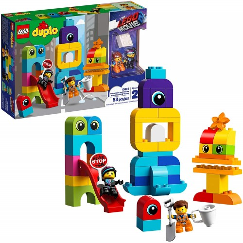 Lego Duplo The Movie 2 Emmet And Lucys Visitors From Planet 10895 Building Bricks 53
