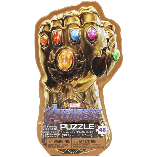 Marvels Avengers Infinity War Gauntlet Tin With Surprise Puzzle