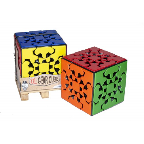 Gear Cube xxl By Mefferts Novelty Gifts Twisty Puzzle Brain Teasers 3×3 Speed