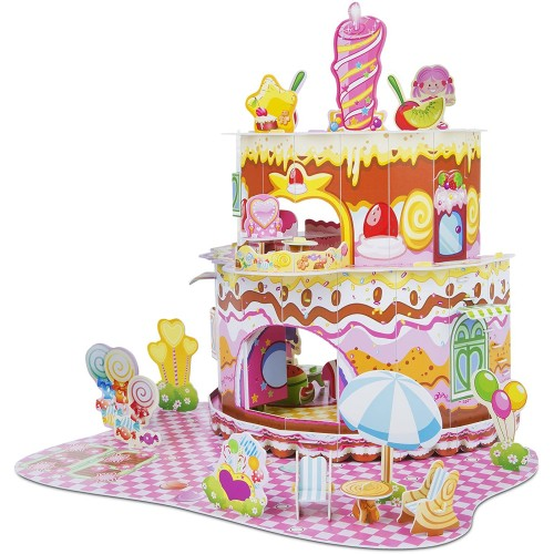 Melissa Doug Home Sweet 3D Puzzle 16 x 15 Inches 100