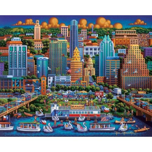 Dowdle Jigsaw Puzzle Austin 500