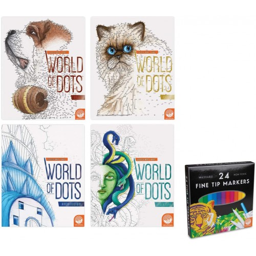 Extreme Dot To World Of Dots Set 4 With Mindware