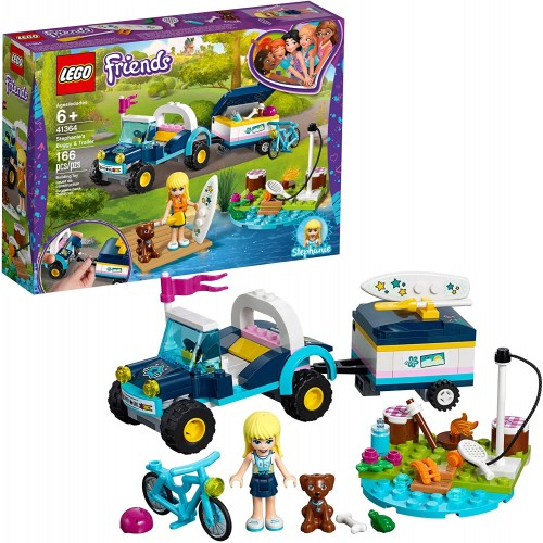 Lego Friends Stephanies Buggy Trailer 41364 Building Kit 166