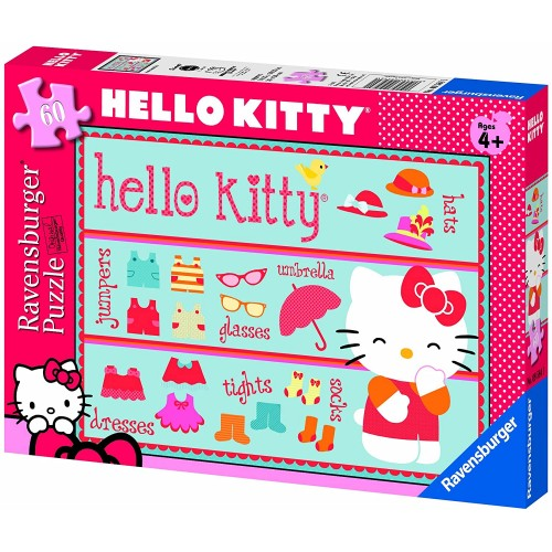 Ravensburger Hello Kitty Accessories 60 Pieces