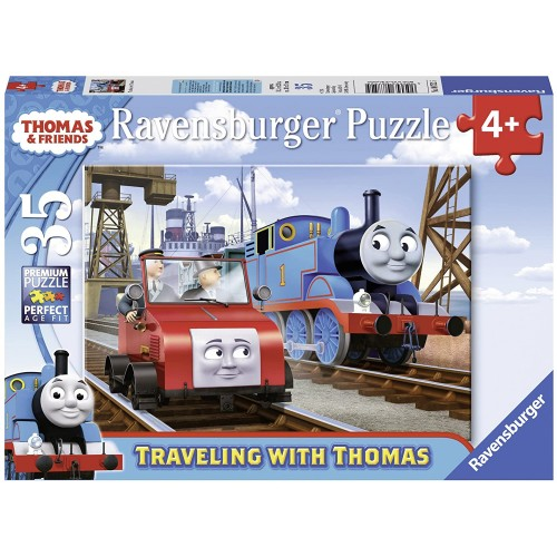 Ravensburger Thomas Friends Traveling With 35 Piece Jigsaw Puzzle Every Is Unique