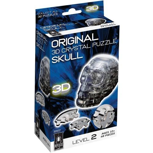 Original 3D Crystal Puzzle Skull