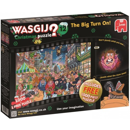 Wasgij 19131 Christmas 12 The Big Turn On Jigsaw Puzzle