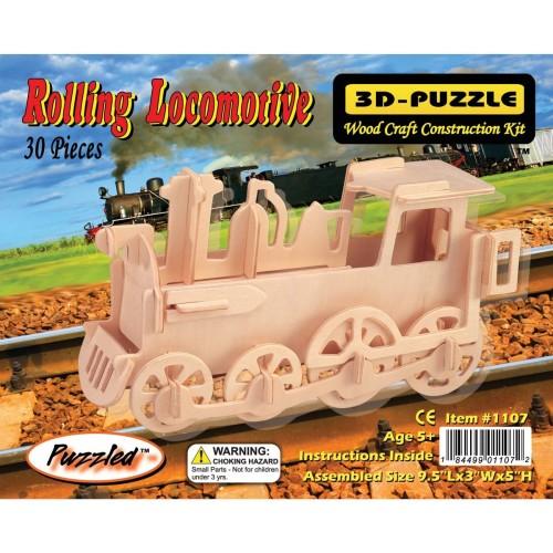 Puzzled Train 3D Jigsaw Puzzle 30Piece 95 x 3