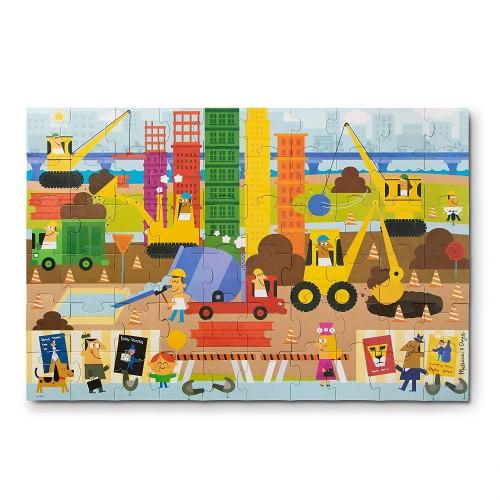 Melissa Doug Natural Play Giant Floor Puzzle Big Builder 60