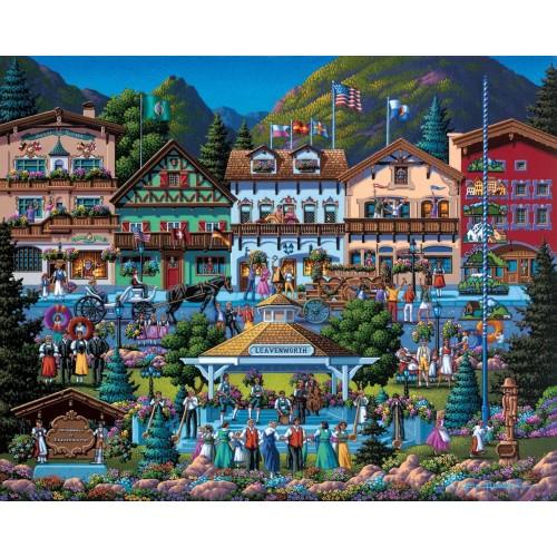 Dowdle Jigsaw Puzzle Leavenworth 500
