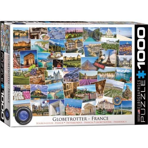 Eurographics 60005466 France Globetrotter 1000Piece