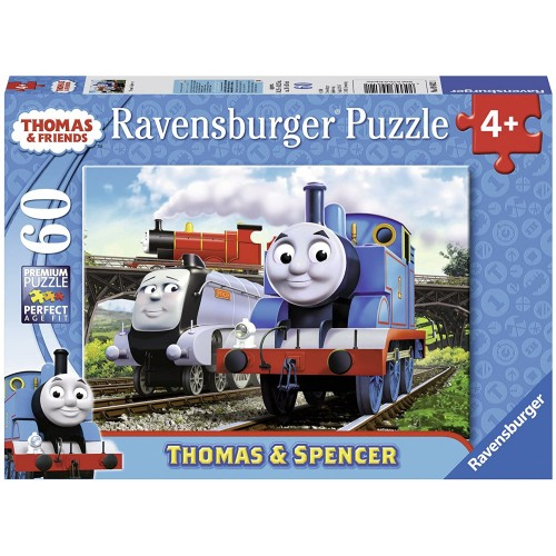 Ravensburger Thomas Friends And Spencer 60 Piece Jigsaw Puzzle Every Is Unique Pieces